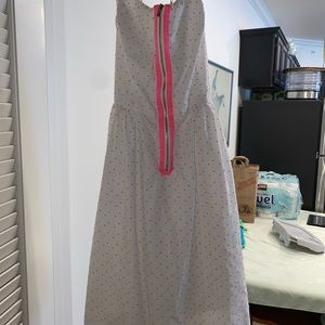 Lilly zip up front dress
